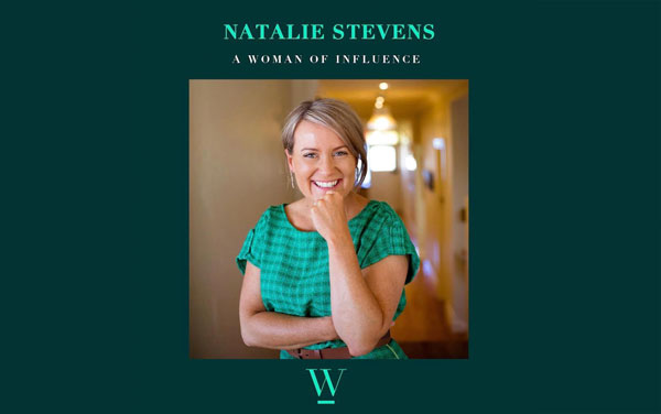 natalie stevens women of influence podcast